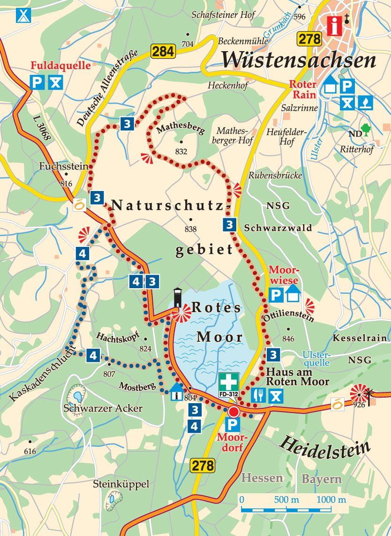Rhön-Rundweg 3 Karte
