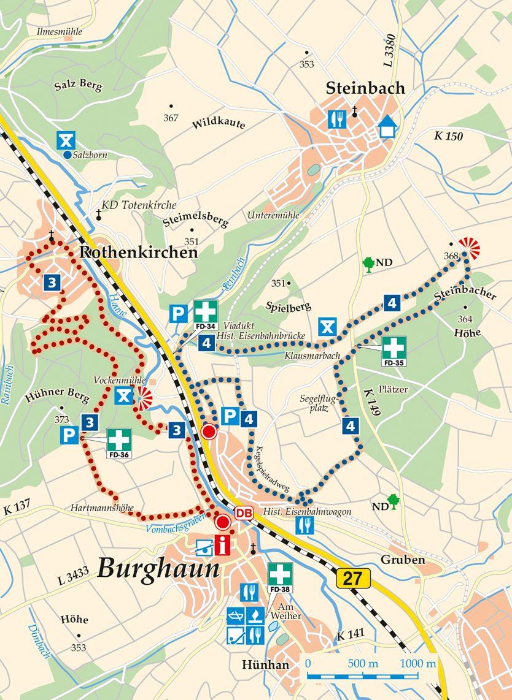 4 Burghaun REWE Karte