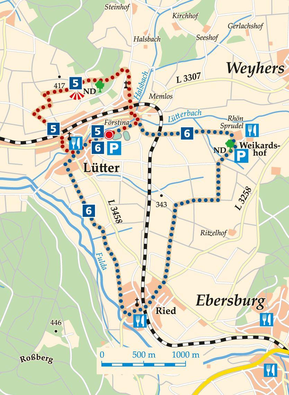 nordic-walking-5-eichenzell-luetter-karte