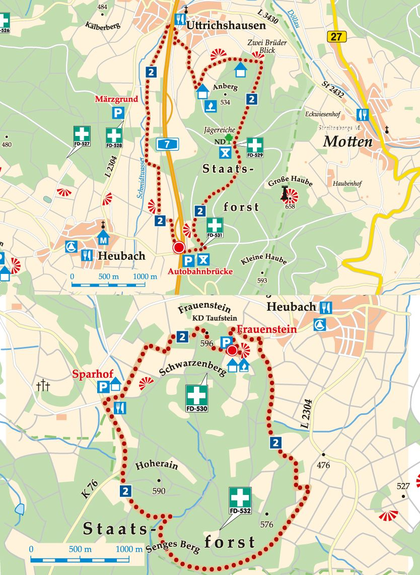 nordic-walking-2-kalbach-frauenstein-karte