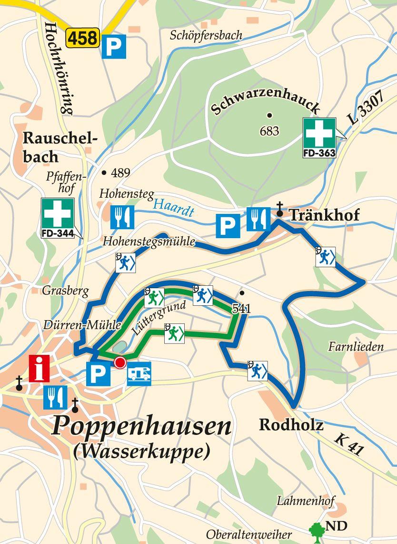 nordic-walking-blau-poppenhausen-poppenhausen-karte