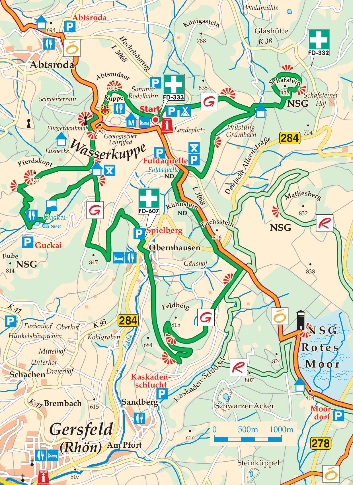 Extratour GUCKAISEE Karte
