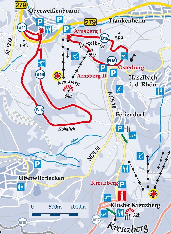 Nachloipte B14 Oberweißenbrunn Karte