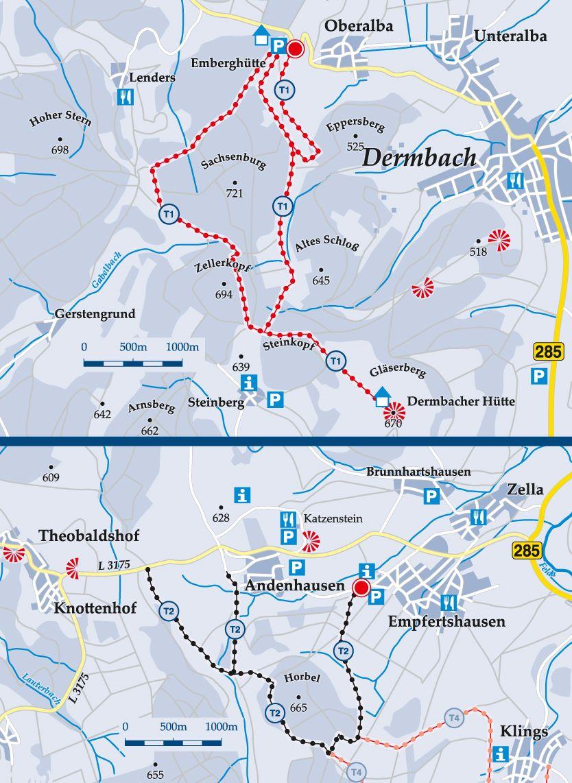Skiwanderweg T2 Horbel, Turmweg