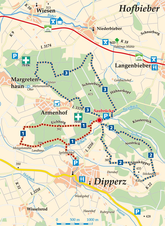 nordic-walking-2-dipperz-saubrücke-karte