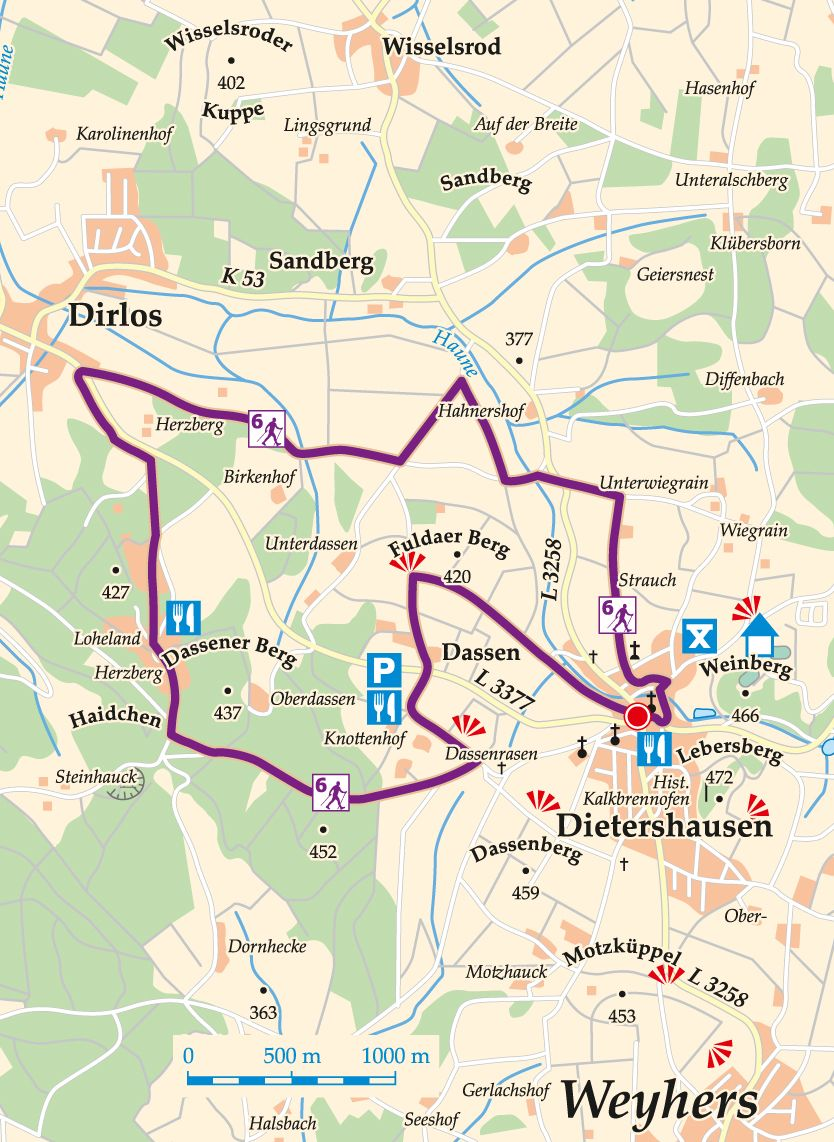nordic-walking-6-kuenzell-dietershausen-karte