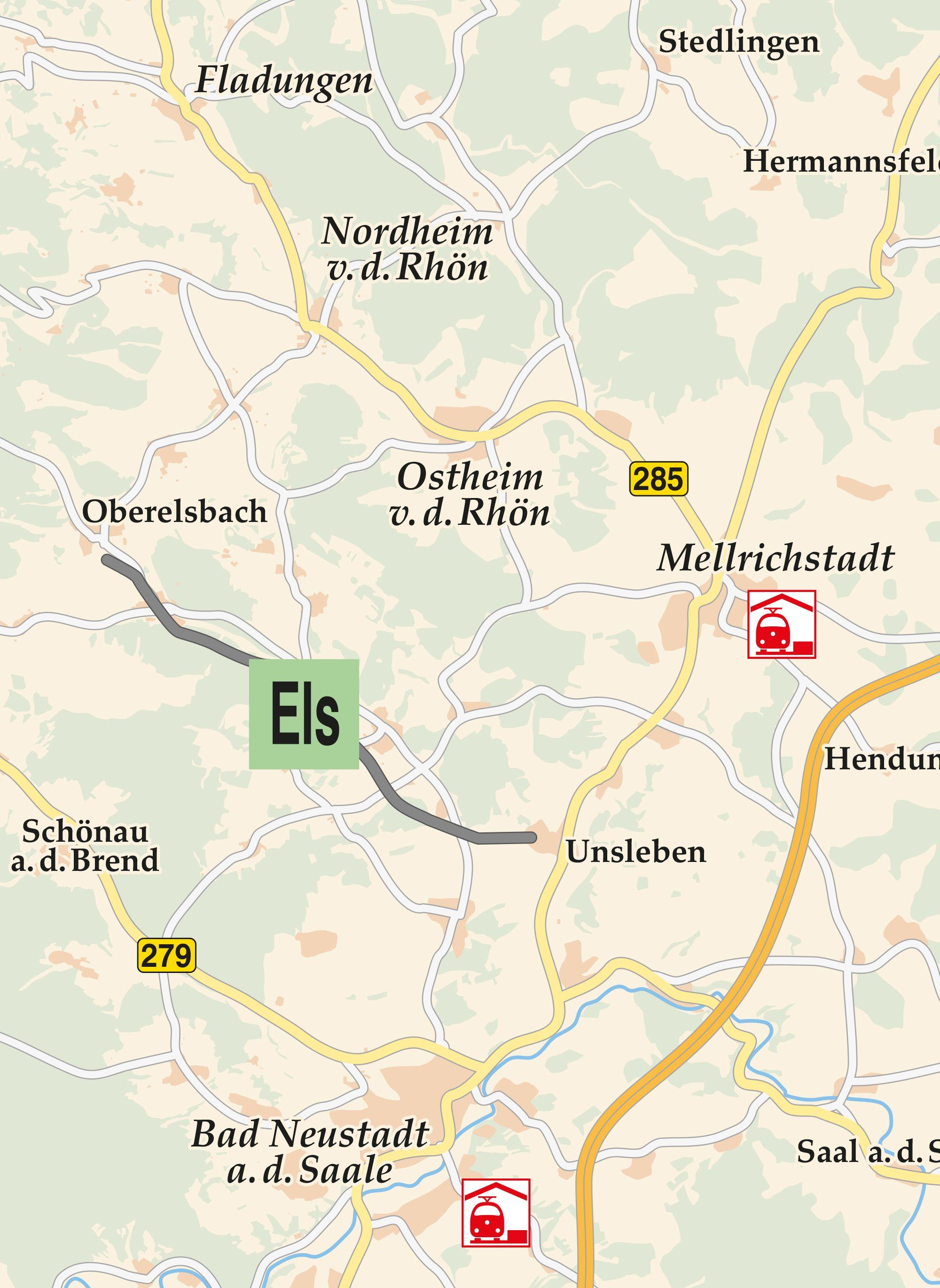 Elstal Radwanderweg Karte