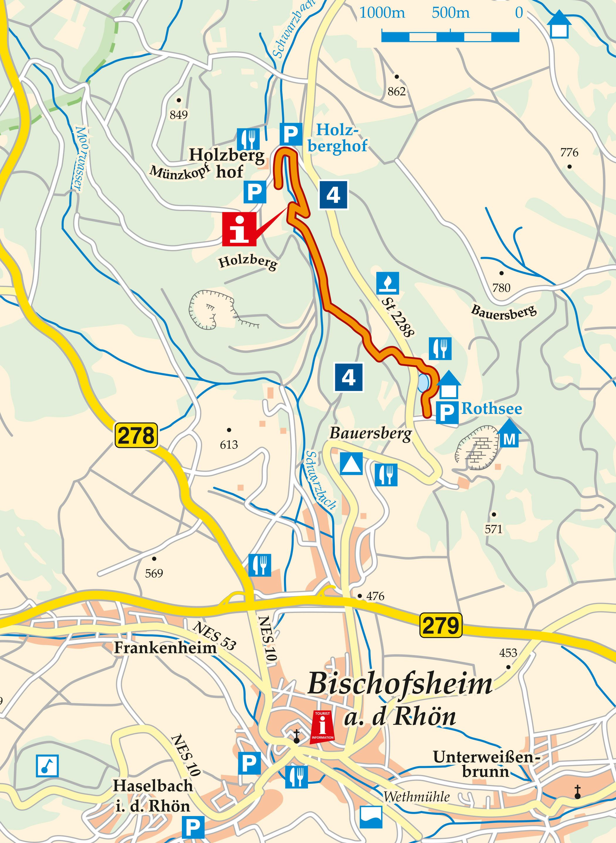 Sagenwanderweg Teufelsmühle Karte