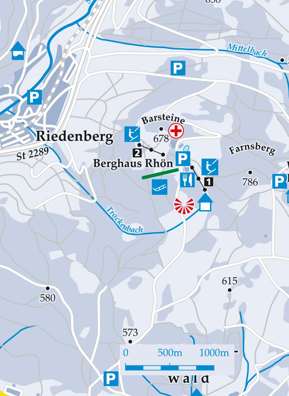 Skilift Farnsberg Karte
