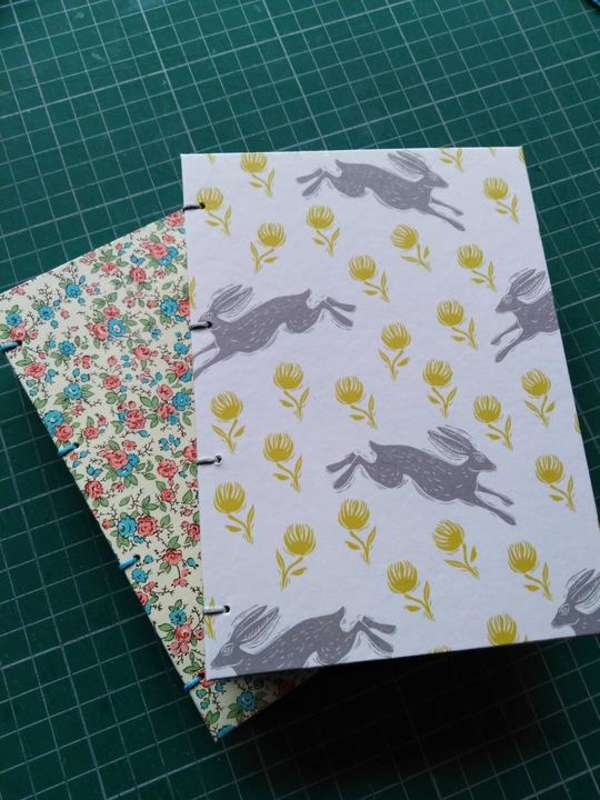 My mum makes amazing, handmade and bound notebooks