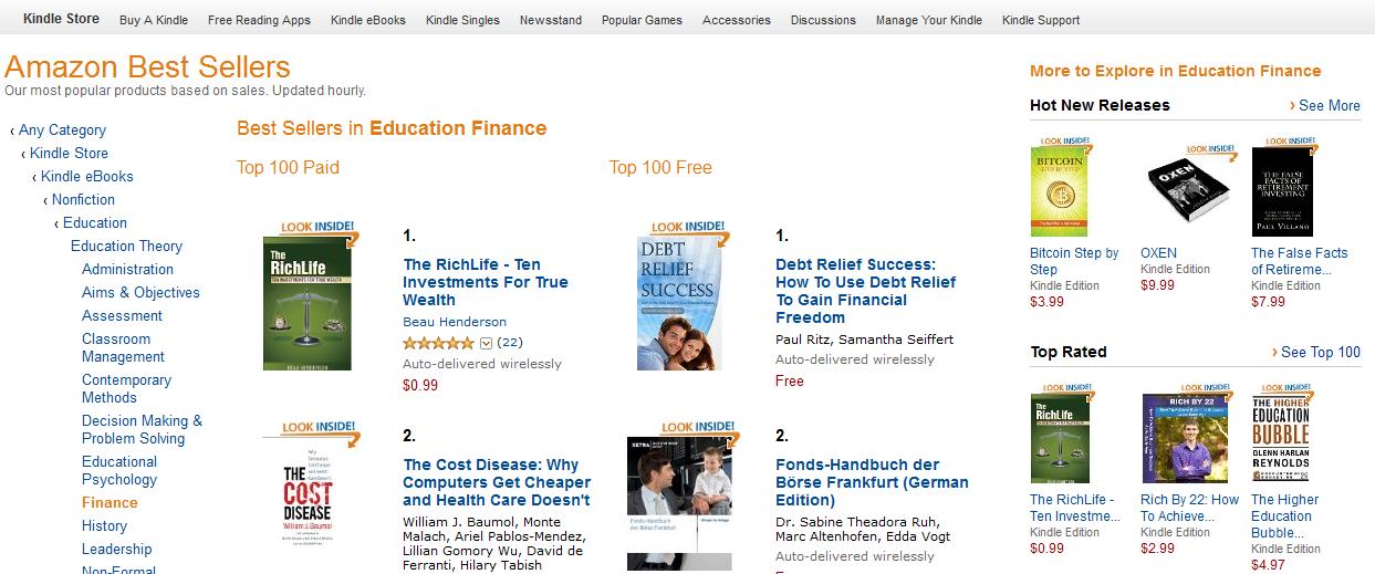 The RichLife Book - #1 Amazon Best Seller