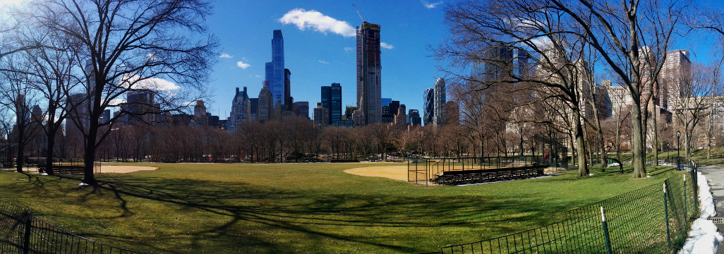 Central Park panorama.