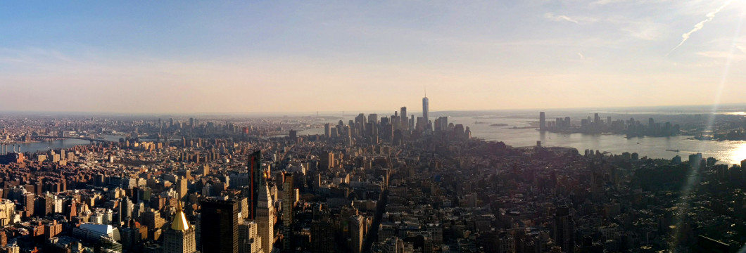 South Manhattan from the Empire State.
