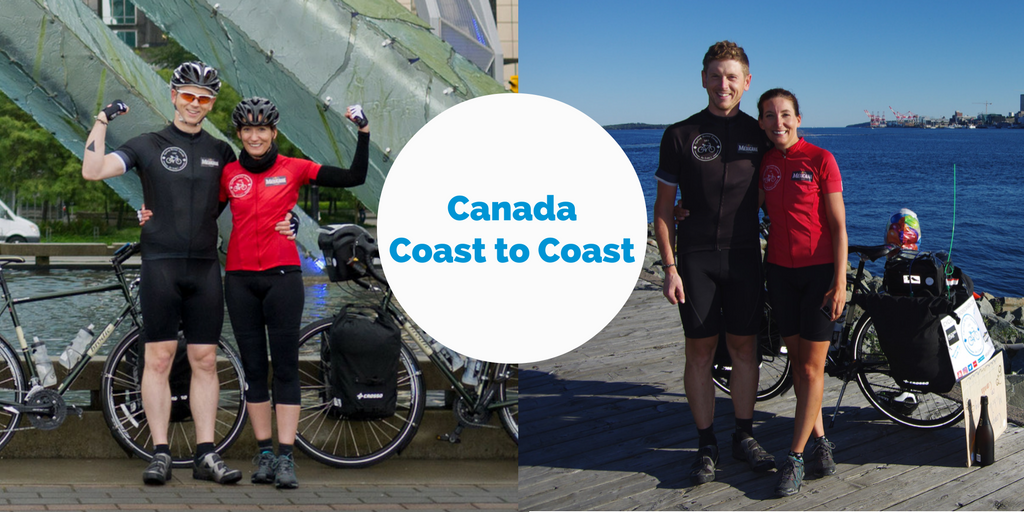cycling Canada coast to coast