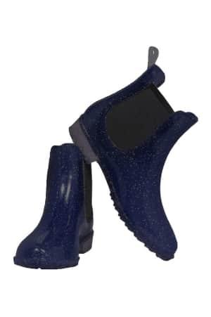 Jodhpurstiefelette Sparkle für Kinder, nachtblau von ELT