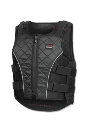 Swing Bodyprotector P19 mit Reißverschluss für Erwachsene, schwarz-grau von Swing