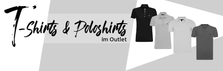 Outlet: T-Shirts und Poloshirts