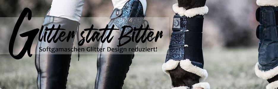 RidersChoice: Softgamaschen Glitter Design