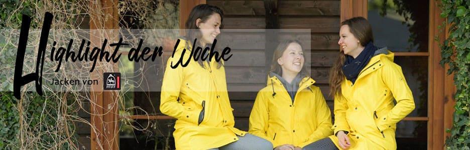 Shop-Highlight der Woche: Jacken von Pfiff
