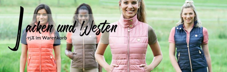 Shop: Jacken und Westen