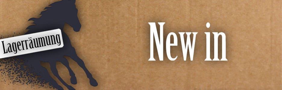 Lagerräumung: New in
