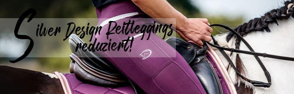 Reitleggings Silver Design von RidersChoice
