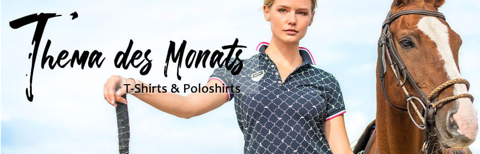 Thema des Monats im Shop: T-Shirts & Poloshirts