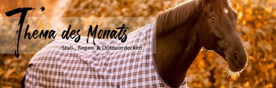 Thema des Monats: Stall, Regen- & Outdoordecken