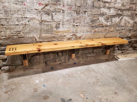 Wood Bench L Brackets