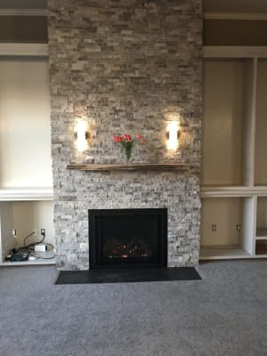 Fireplace Mantel Bracket Installation