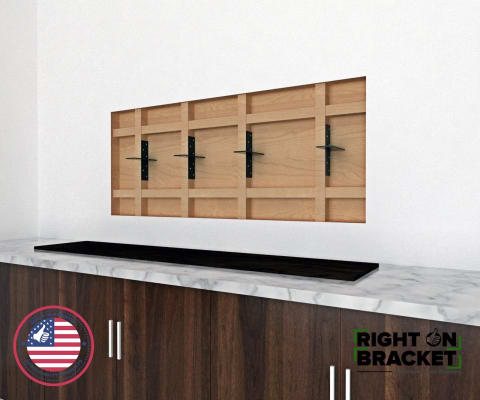 Heavy Duty Floating Shelf Brackets