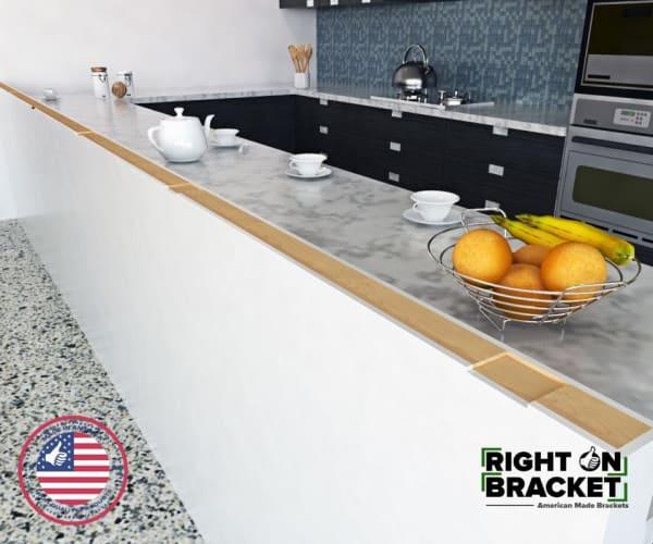 Pony Wall Bracket cut inserts