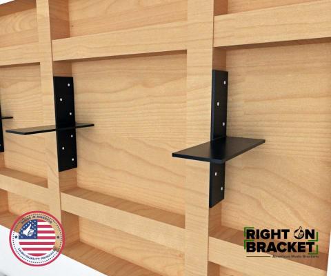 Hidden Shelf Brackets