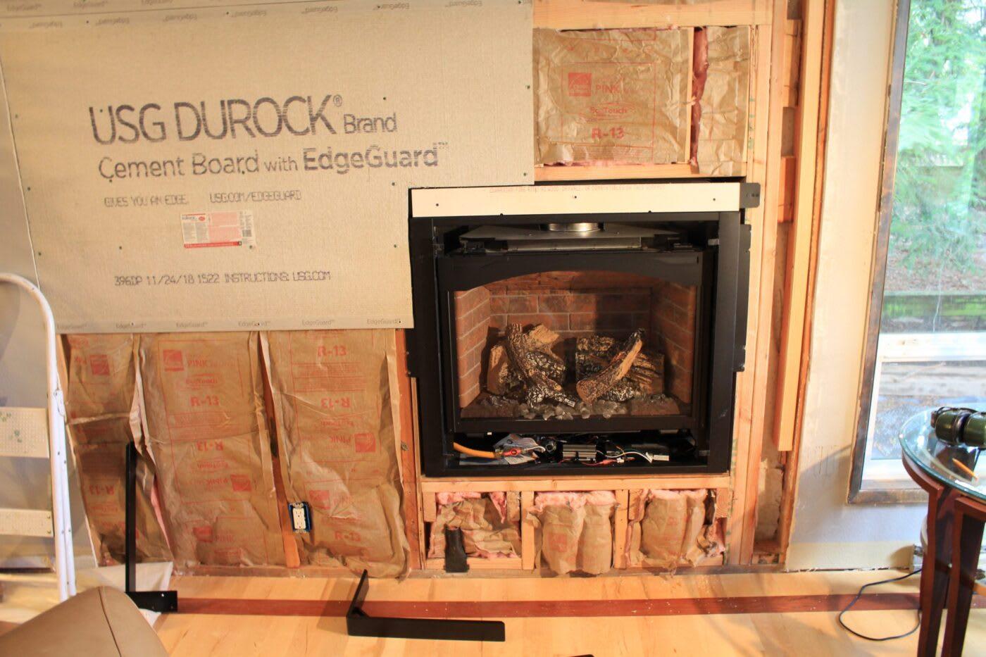 Right On Bracket Fireplace Heath Installation