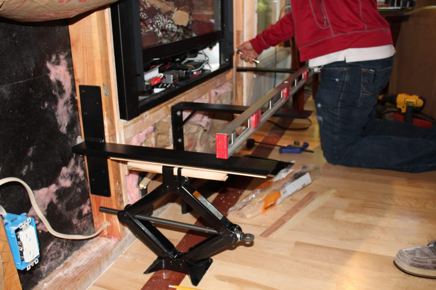 Hidden Shelf Bracket Installation