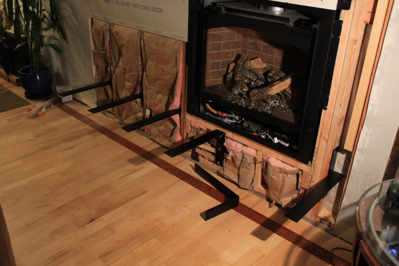 Fireplace Hearth Installation