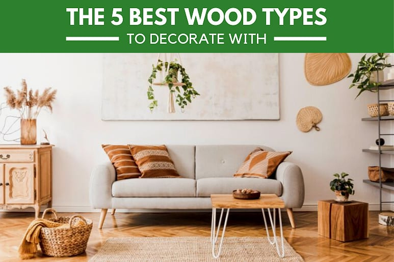 The 5 Best Wood Types to Decorate With