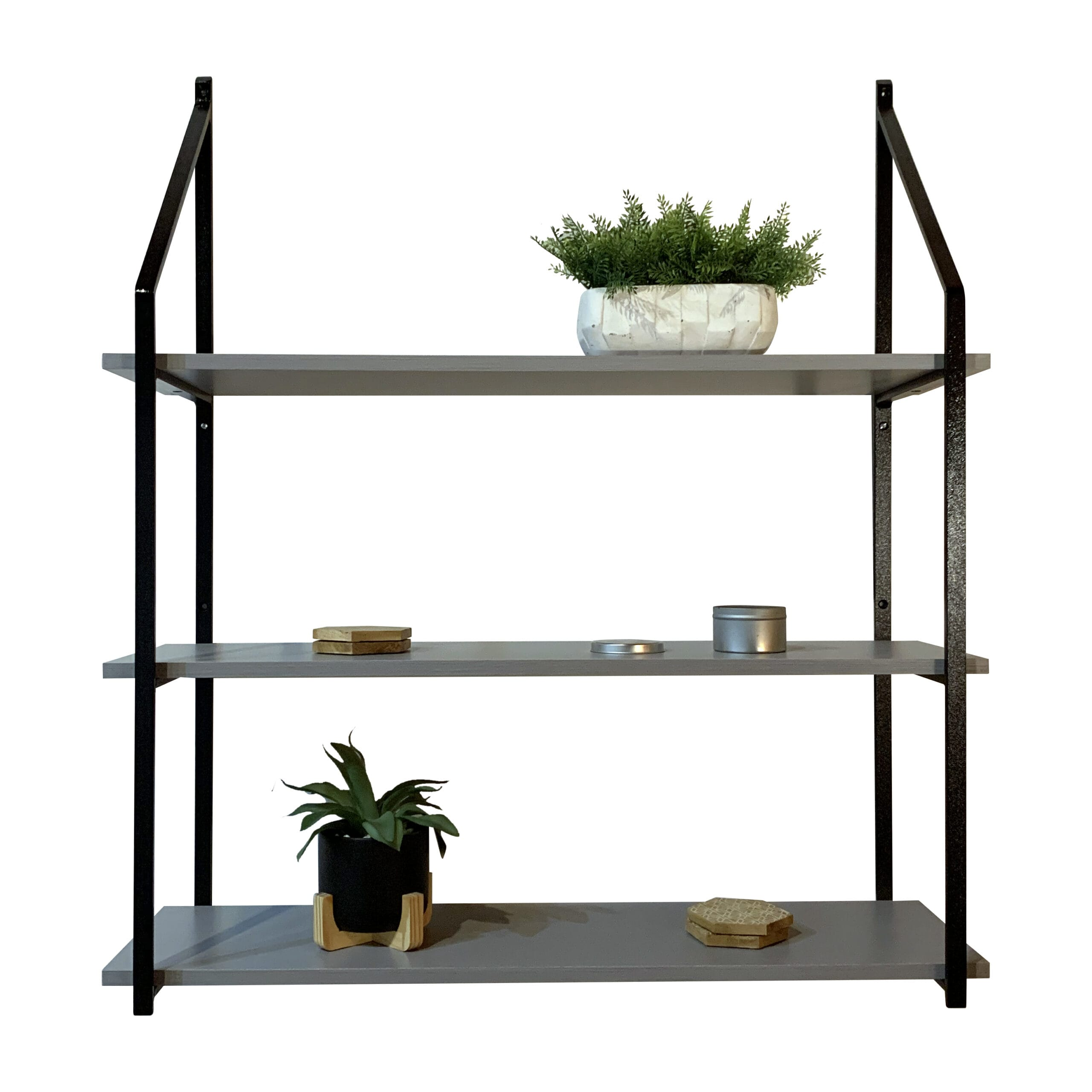 Tiered Shelving System