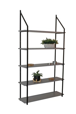 5 tier shelf system