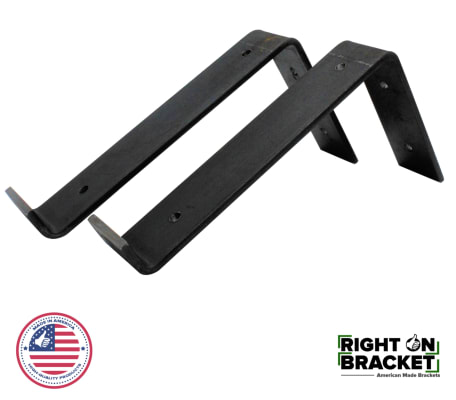 Right On Bracket Lip Shelf Bracket