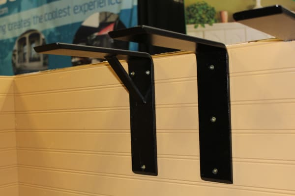 Right Angle & Reinforced Countertop Bracket