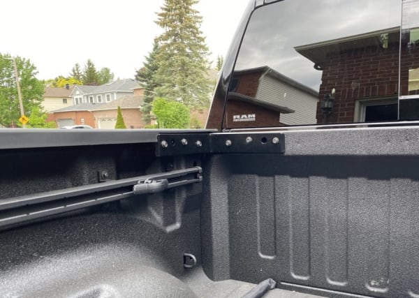 Replacement RAM Truck Bed Bracket For Tonneau Cover