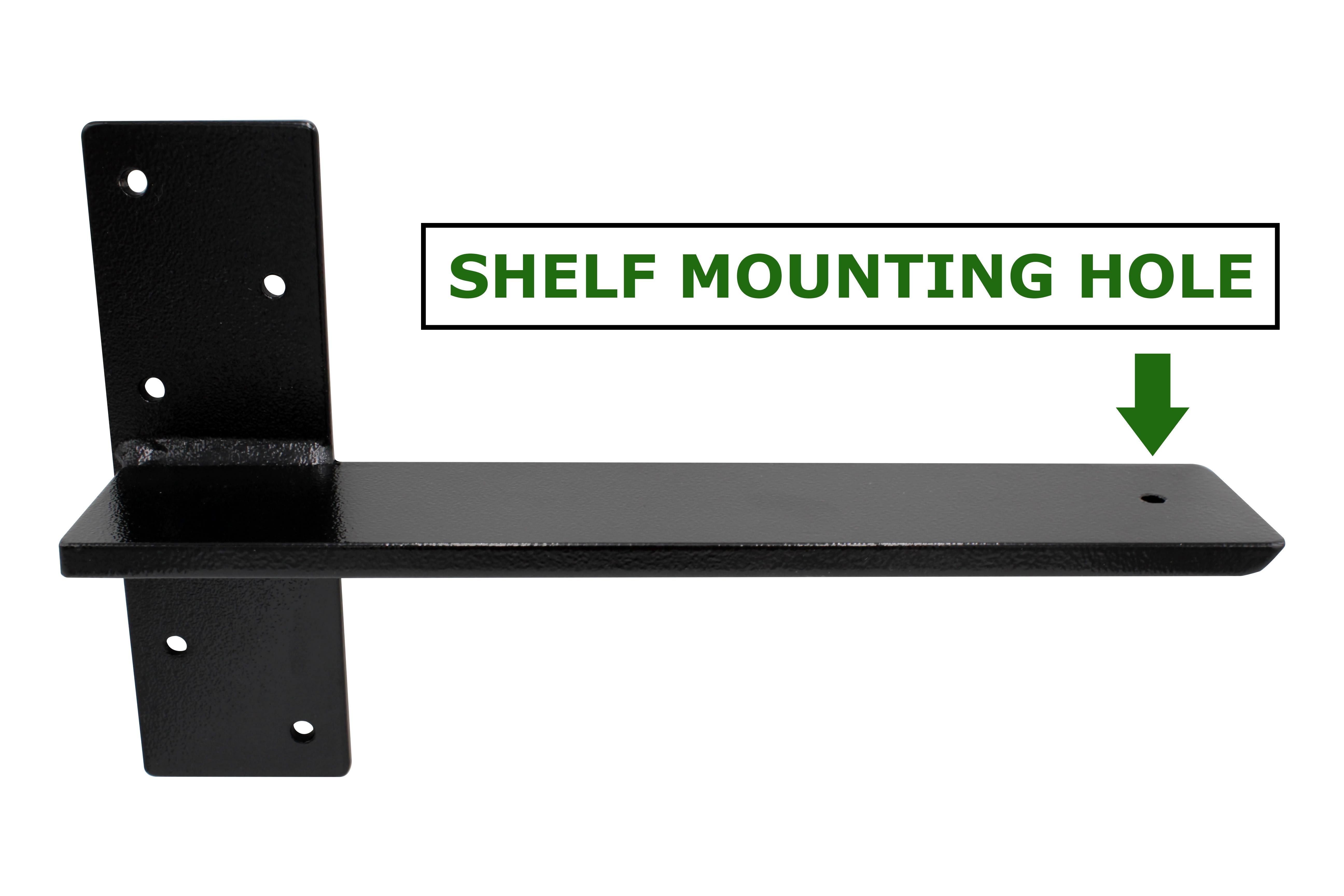 Stud Mount Hidden Shelf Bracket