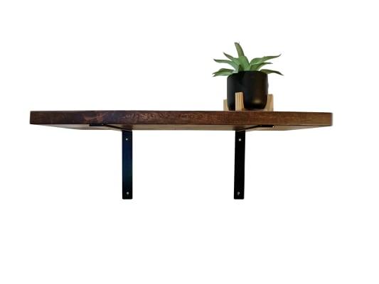 Right Angle Steel Shelf Bracket