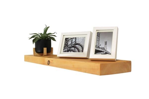 Floating Wood Shelf Kit
