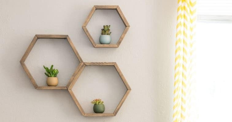 Different Ways To Style Your Floating Shelves
