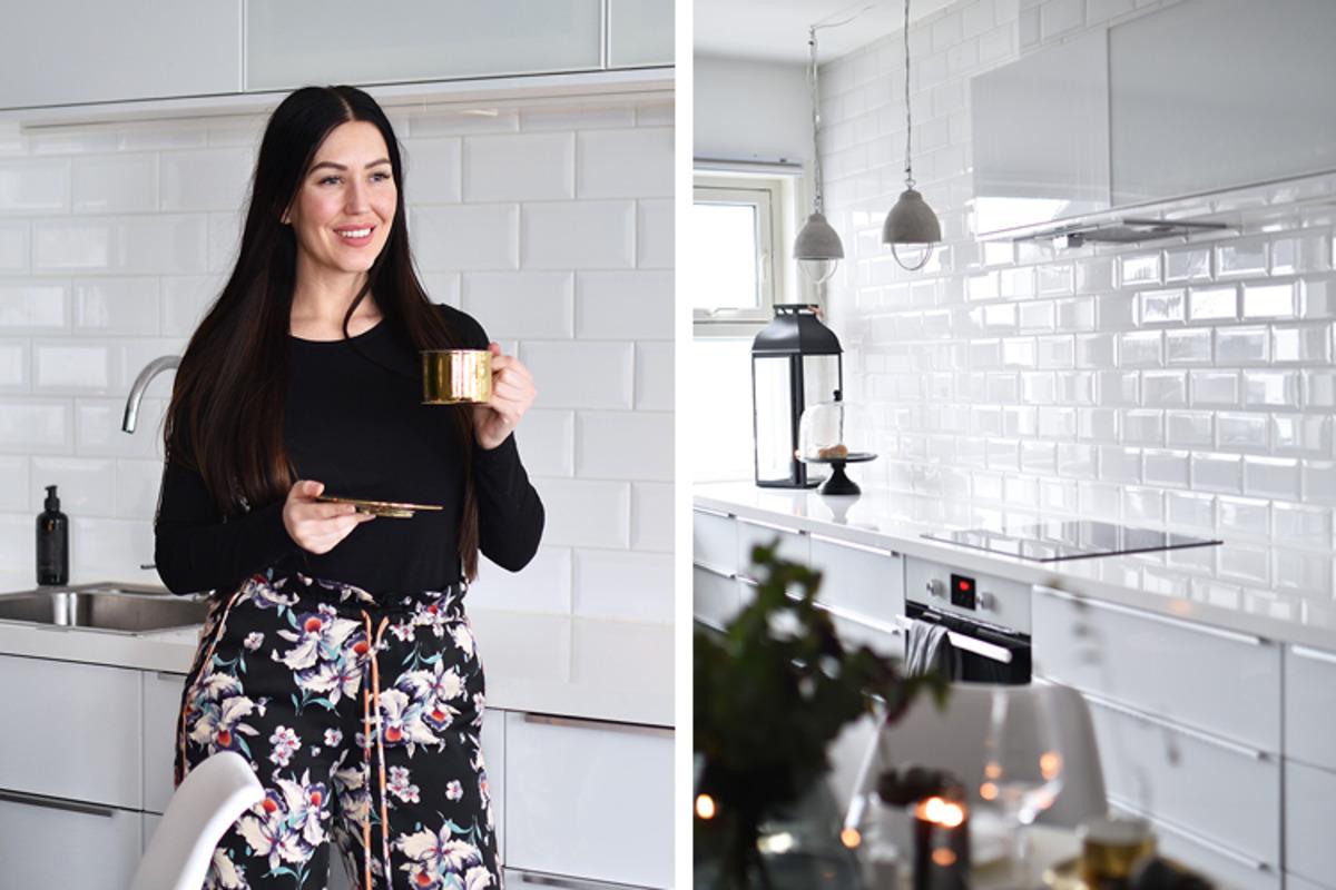 Oppdatert kjøkken med enkle grep