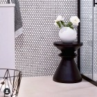 MOSAIC HEXAGON GLOSSY WHITE