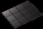 DIAMOND BLACK MATE 10X10