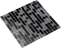 MOSAIC GREY BLACK MIX
